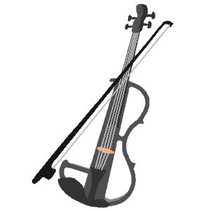 エレキバイオリンさん